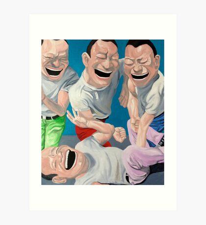 Just Laugh  Art Print