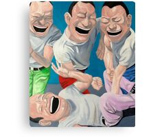 Just Laugh  Canvas Print