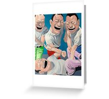 Just Laugh  Greeting Card