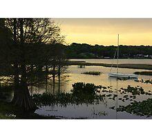 Lazy Lake Photographic Print