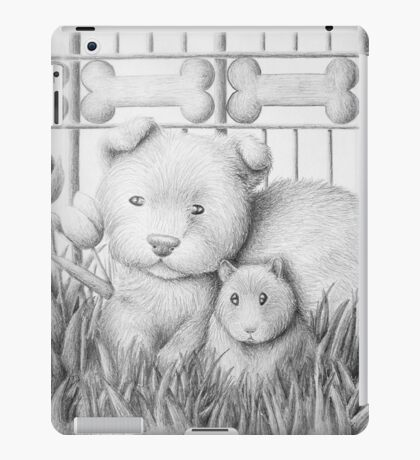 Dog And Hamster iPad Case/Skin