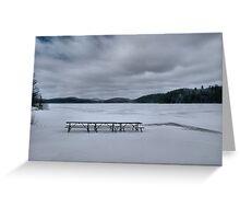 Picnic At Lake Opeongo, Ontario Canada Greeting Card