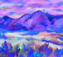 Blue Mountain Memory by artqueene