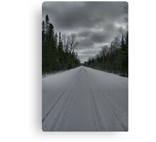 Road from Lake Opeongo, Ontario, Canada Canvas Print