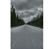 Road from Lake Opeongo, Ontario, Canada Photographic Print