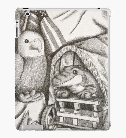 Alligator And Eagle Still Life iPad Case/Skin