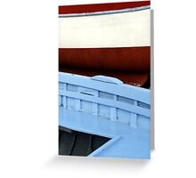 Painted Hulls Greeting Card