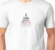 Alfa Romeo Eyechart Unisex T-Shirt