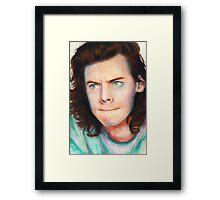 grumpy harry Framed Print