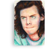 grumpy harry Canvas Print