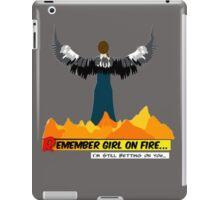 Mockinbae burning dress iPad Case/Skin
