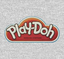 Vintage Play-Doh logo One Piece - Long Sleeve