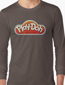 Vintage Play-Doh logo Long Sleeve T-Shirt