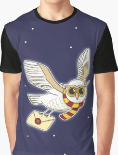 Owl Post Graphic T-Shirt