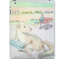 Mongoose with Eggs iPad Case/Skin
