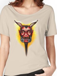straight to hell with a beard Women's Relaxed Fit T-Shirt