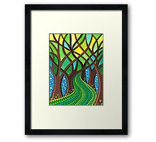 Walk your own Path Framed Print