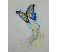 Opal Butterfly Photographic Print