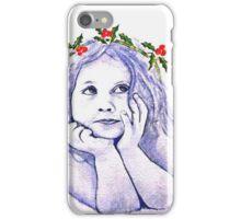 Christmas Child iPhone Case/Skin