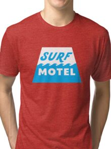 Surf Motel Tri-blend T-Shirt