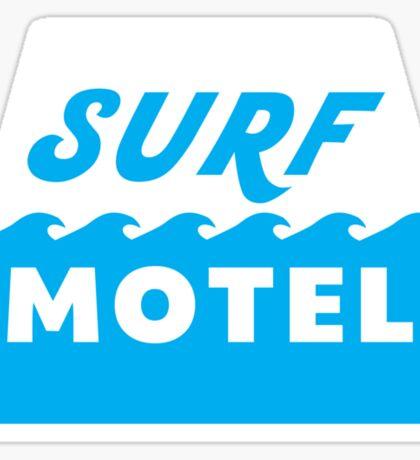 Surf Motel Sticker