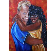 Spicy - Interracial Lovers Series Photographic Print