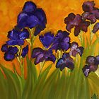 Irises in Motion by Yesi Casanova