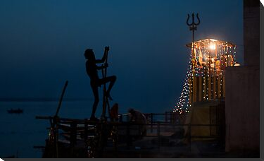 Shivaratri Night  by lamiel