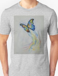 Opal Butterfly Unisex T-Shirt