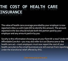The cost of the health care insurance by rockucpr