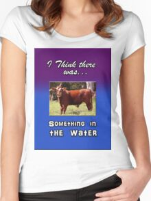 SOMETHING IN THE WATER Women's Fitted Scoop T-Shirt