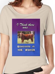 SOMETHING IN THE WATER Women's Relaxed Fit T-Shirt