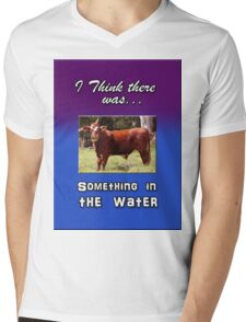 SOMETHING IN THE WATER Mens V-Neck T-Shirt