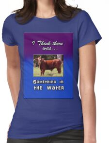 SOMETHING IN THE WATER Womens Fitted T-Shirt