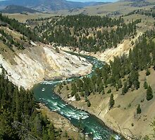 Yellowstone River by groovytunes9