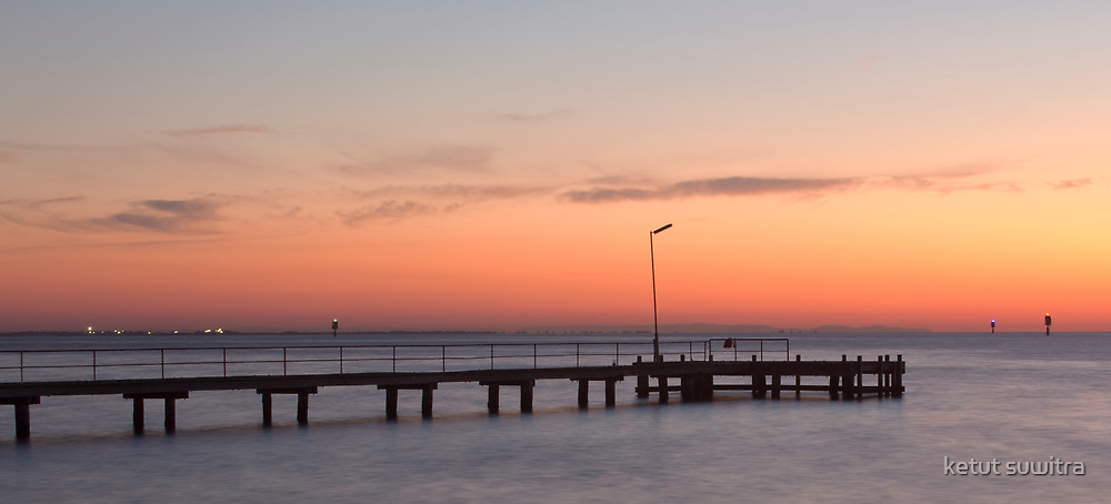 ripple side pier by ketut suwitra