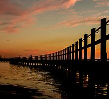 walkway bridge by ketut suwitra