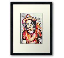 harry :) Framed Print