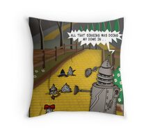 The Dalek Of OZ Throw Pillow