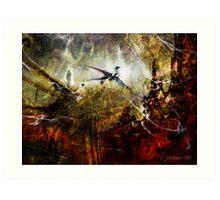 Dragon Realms Art Print