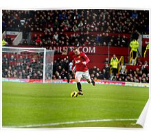 Offense by Wayne Rooney Poster