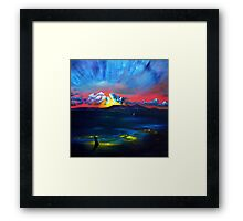 Touching The Soul Framed Print