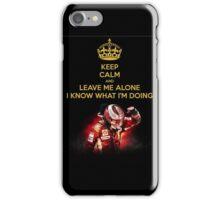 Keep Calm, I'm Kimi iPhone Case/Skin