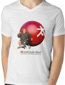Pump It Up Mens V-Neck T-Shirt