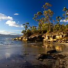 Killora Beach - Bruny Island, Tasmania by clickedbynic