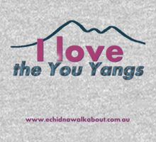 I love the You Yangs - light background One Piece - Short Sleeve