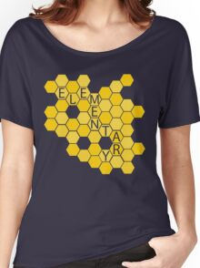 A Study in Honeycomb: Elementary Women's Relaxed Fit T-Shirt