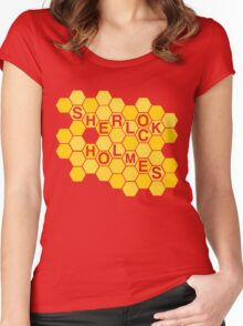 A Study In Honeycomb Women's Fitted Scoop T-Shirt