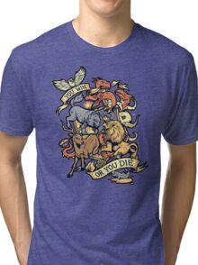 Win or Die Tri-blend T-Shirt