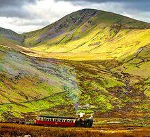 Stunning Snowdon Train by MrsGJ